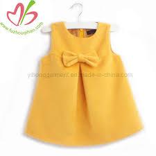 China <b>New Style Butterfly Knot</b> Baby Girl Summer Dress - China ...