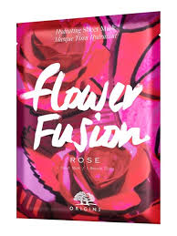 Click & Collect - <b>Origins</b> Sheet Mask <b>Flower Fusion Rose</b> - Face ...