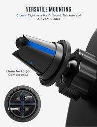 Mpow <b>Car Mount</b>, <b>Universal</b> Air Vent Phone Holder <b>Adjustable</b> Car ...