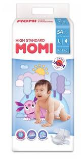 <b>Momi подгузники High</b> Standart L (9-14 кг) 54 шт. — купить по ...