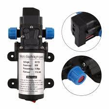 <b>DC 12V 80W</b> Micro Electric Diaphragm Water Pump <b>5.5L/min</b> High ...