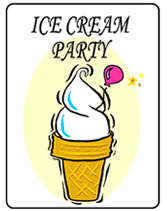 Image result for ICE CREAM PARTY