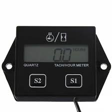 Online Shop Quality <b>Digital Engine Tach Hour</b> Meter Tachometer ...