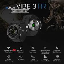 <b>Zeblaze VIBE 3</b>/VIBE 3 HR Smart Watch Calories Consumption ...