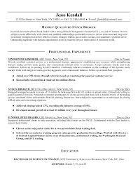 Microsoft Word   JK Stock Broker jpg Documents Free Stock Broker Resume Example