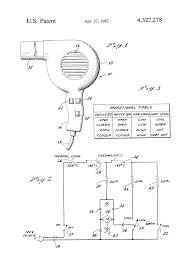 Drawing Electric Circuits Patent Simplified Multiple Speed Hair Dryer