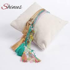 <b>Shinus miyuki</b> bracelets summer jewelry boho pulseras mujer seed ...