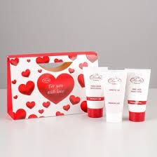 Подарочный набор Liss Kroully <b>Rose</b>: крем для <b>рук</b> + маска для ...
