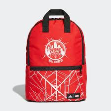 adidas <b>Рюкзак Marvel</b> Spider-Man - красный | adidas Россия