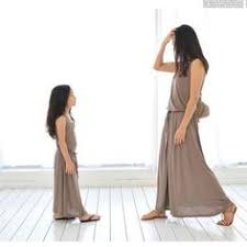 Fashion <b>Mother Daughter Dresses</b> Casual Summer Family Matching ...