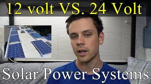 <b>12</b> volts VS. 24 volts for Off-grid <b>Solar Power Systems</b> - YouTube