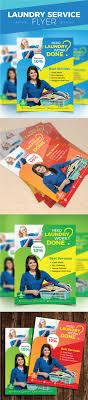 laundry service flyer by design station graphicriver laundry service flyer commerce flyers