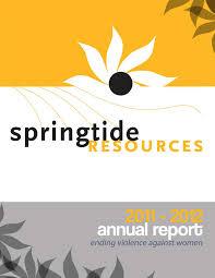 springtide resources annual report 2011 2012 springtide resources our 2011 2012 annual report is now available online