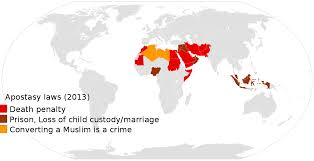 islam and violence penalties actual or proposed for apostasy in some muslim majority countries as of 2013