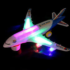 New Light Music Universal Airbus A380 <b>Plane Model Flashing</b> ...