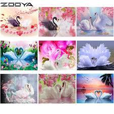 <b>ZOOYA</b> Diamond Mosaic <b>5D</b> DIY <b>Diamond Embroidery</b> Cross Stitch ...