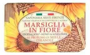 <b>Мыло Marsiglia In Fiore</b> Honey & Sunflower Soap 125г (мед и ...