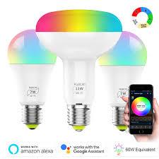 Online Shop 1/3pcs <b>Smart WiFi Bulb</b> LED Light <b>4.5W</b> / 6.5W RGB ...