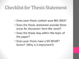 expository essay the outsiders choose a big idea choose one big