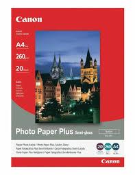 <b>Фотобумага Canon SG 201 Полуглянцевая</b> 260g m2 A4 20 листов ...