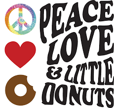 peace love and little donuts of kent college town kent peac love