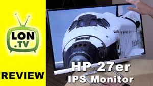 <b>HP</b> 27er <b>Monitor</b> Review - $200 IPS <b>27 inch</b> 1080p budget <b>display</b> ...