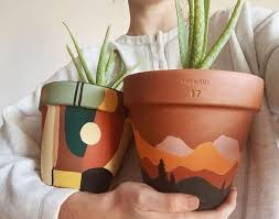 Pin by Никита Алексеевич Рыжов on Plants in 2020 | Painted pots ...