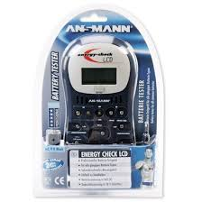 <b>Ansmann</b> Energy Check LCD 4000392 <b>Battery Tester</b>