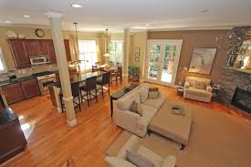 eye catching modern open floor plans interior ideas with beautiful living room added beautiful open living room