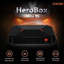 <b>CHUWI Herobox Portable 8GB</b> LPDDR4 + 180GB SSD Mini PC with ...