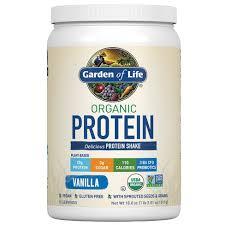 Garden Of Life <b>Organic</b> Vegan <b>Protein</b> Powder - Vanilla - 18oz : Target