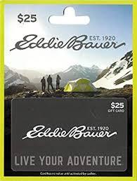 Amazon.com: Eddie Bauer $25 Gift Card: Gift Cards