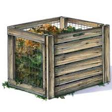 Compost container for your organic garden