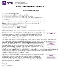 wasserman center nyu wasserman center blog wasserman cover letter best practices guide pg 1