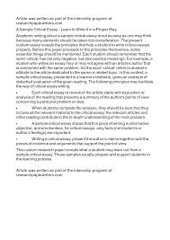 correct format for writing an essay   how to do a personal essayapa format double spaced essay example