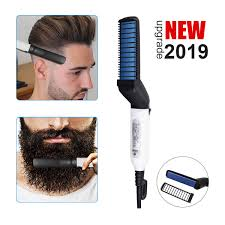 【<b>New Upgrade</b>】Quick Beard Straightener Comb, <b>Electric Hair</b> ...