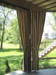 outdoor curtains patio exterior remodel