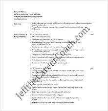 hvac technician resume free pdf template hvac technician sample resume