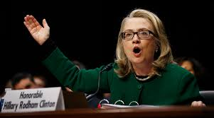 Image result for hillary clinton testimony