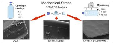 Does mechanical stress cause microplastic release from <b>plastic</b> ...