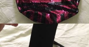 Adorable tote bag! Large <b>sequin</b> Victoria's Secret tore bag one small ...
