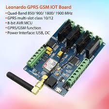 <b>Elecrow Leonardo GPRS GSM</b> IOT Board with SIM800C Relay ...
