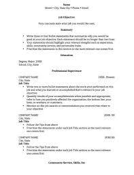 sample resume for college students  resume sample format
