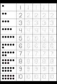 Tracing – Number Tracing / FREE Printable Worksheets – WorksheetfunNumber Tracing – 2 Worksheets