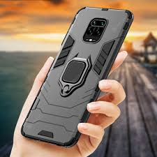 Shockproof Case for Xiaomi Redmi Note 9s Magnetic <b>Back</b> Phone ...