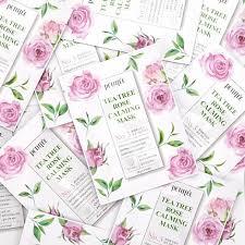 <b>Успокаивающая маска с</b> чайным деревом, Petitfee Tea Tree Rose ...