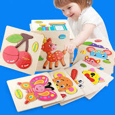 <b>Kids Toys Cartoon Animal</b> Wooden Puzzle Gifts For <b>Children Toy</b> ...