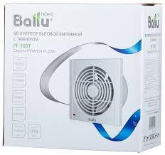 <b>Вытяжной вентилятор Ballu Power</b> Flow PF-100T 12 Вт — купить ...