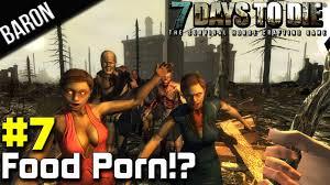7 Days to Die Part 7 Food Porn Alpha 8.6 Coop Survival.