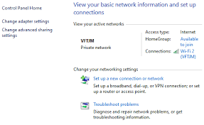Guide to Network and Sharing Center in Windows <b>7</b>, 8, <b>10</b>